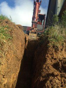 plumbing excavator geelong