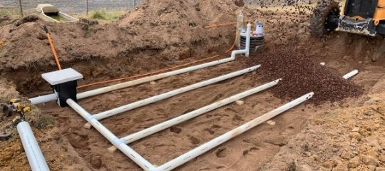 sand filter septic installation geelong